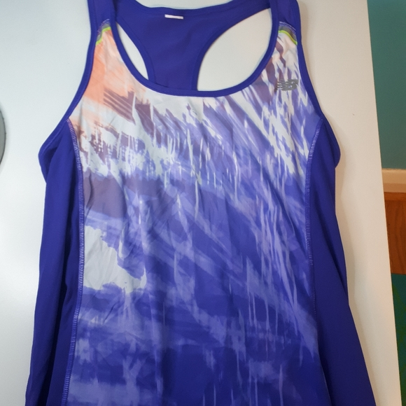 New balance work out tank top